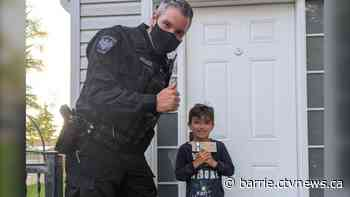 Innisfil boy, 5, receives cash reward for being honest - CTV Toronto