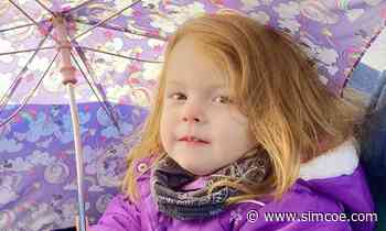 'Our world changed': Alliston girl, 3, named patient ambassador for Hamilton hospital's fundraiser - simcoe.com