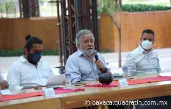Se reúnen Gobiernos con habitantes triquis desplazados de Tierra Blanca - Quadratín Oaxaca