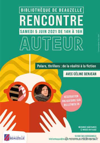Rencontre auteur avec Céline Denjean – Samedi 5 juin Bibliothèque Municipale samedi 5 juin 2021 - Unidivers