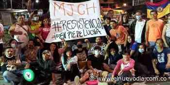 En Chaparral los jóvenes continúan con plantón frente a la Alcaldía - El Nuevo Dia (Colombia)