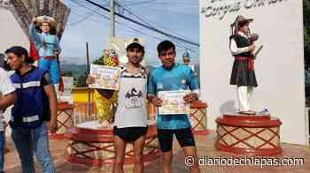 Corren en Suchiapa 7 kilómetros - Diario de Chiapas