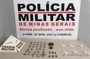 Polícia apreende 127 pedras de crack no bairro Padre Adelmo, em Itabirito - Mais Minas