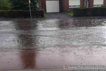 Gigantische wateroverlast in Haacht en Boortmeerbeek: brandw... - Het Nieuwsblad