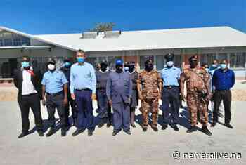 Kawana visits northern police stations - Truth, for its own sake. - New Era