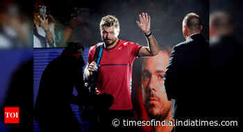 Stanislas Wawrinka out of Wimbledon due to foot injury - Times of India