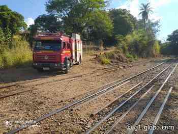 Homem morre após ser atropelado por trem em Vespasiano, na Grande BH - G1
