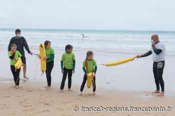 Lacanau : prévenir le risque de noyade des jeunes qui n'ont pas eu de cours de natation durant le confinement - France 3 Régions