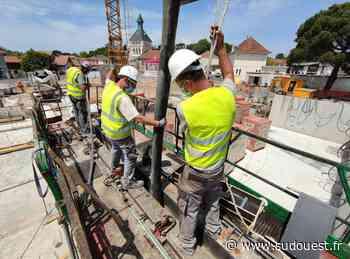 Résidence du centre-ville à Parentis-en-Born : le chantier est en cours - Sud Ouest