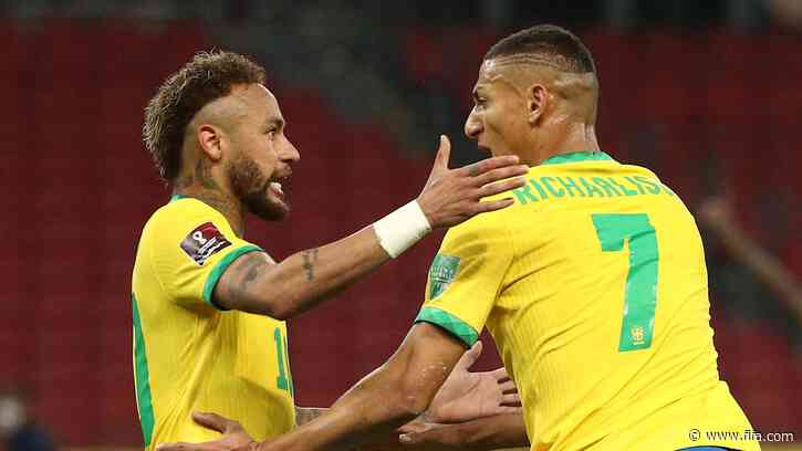 Brazil stay perfect with tight win over Ecuador