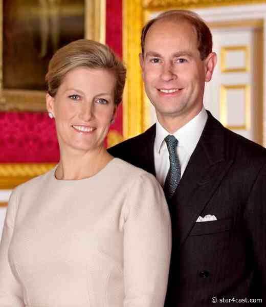 Prince Edward & Sophie – a moment to savour