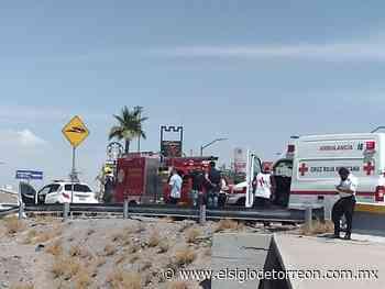 Vehículo cae a canal en la colonia El Fresno de Torreón - El Siglo de Torreón