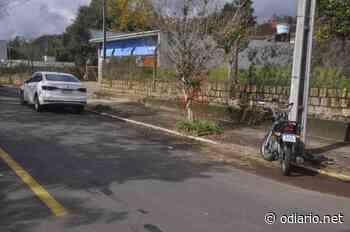 Motociclista fica ferido ao bater em veículo conduzido por gestante em Ivoti - O Diário