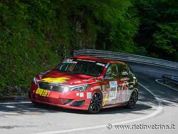 Automobilismo, weekend perfetto per Scappa alla 51ª Verzegnis - Sella Chianzutan - Rietinvetrina