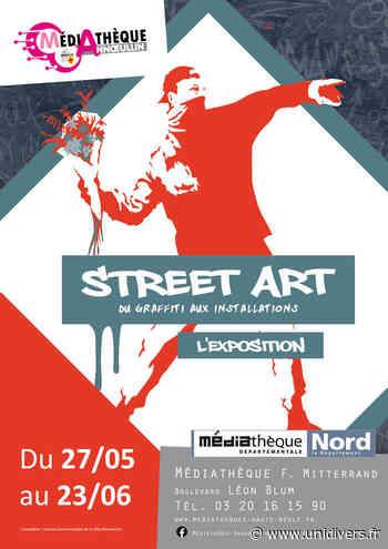 Le Street art s'expose à la médiathèque d'Annoeullin Expositions – Une visite accompagnée de jeux et de quiz Médiathèque François Mitterrand samedi 12 juin 2021 - Unidivers