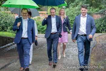 Rathauschefs von Zittau und Görlitz zählen jeden Schritt - Sächsische.de