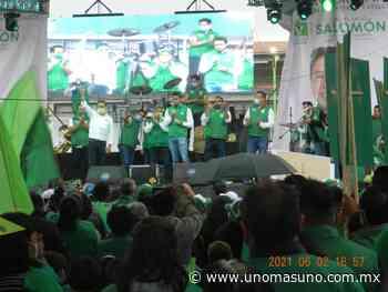 En Amecameca, Cierra campaña Miguel Salomón, con total respaldo de sus conciudadanos - UnomásUno