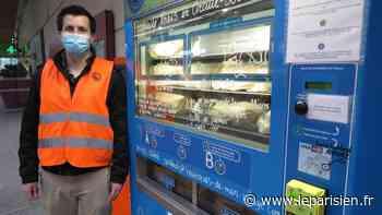 Un distributeur de fruits et légumes à la gare d'Ermont-Eaubonne : «Cela correspondait à un besoin» - Le Parisien