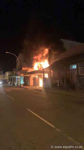 Building destroyed in Caledon Street in Graaff-Reinet - AlgoaFM News