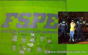 Lo detienen con presunta droga en Silao - El Sol de León