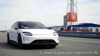 Sony testet Auto-Prototypen mit 5G-Datenfunk von Vodafone - Augsburger Allgemeine