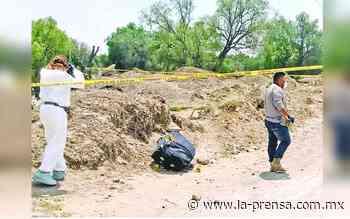 Abandonan enmaletado el cadáver de un hombre en baldío de Zumpango - La Prensa