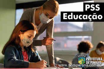 Prefeitura de Pinhais abre seleção para professores e remuneração pode passar dos R$ 3.100 - Bem Paraná - Bem Paraná