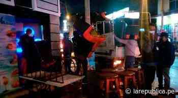 Huaraz: 40 personas intervenidas en nuevo operativo COVID-19 - LaRepública.pe