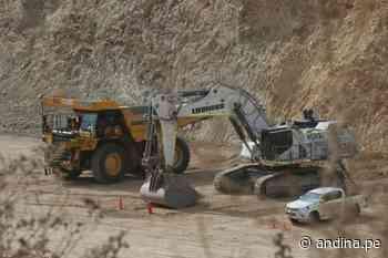 Moquegua lideró ranking de inversión minera en el primer cuatrimestre 2021 - Agencia Andina
