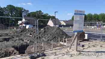 Libercourt: Le chantier de construction des premières maisons de l'Ecopôle Gare a démarré - La Voix du Nord