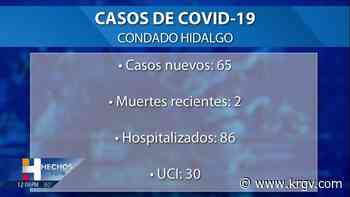El condado Hidalgo reporta 3 muertes relacionadas con coronavirus, 102 casos positivos - KRGV