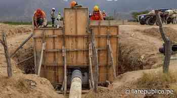 Lambayeque: realizan pruebas hidráulicas para llevar agua al valle viejo de Olmos - LaRepública.pe