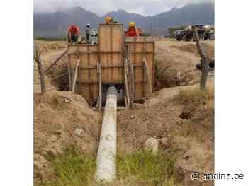 Lambayeque: Proyecto Olmos ejecuta obras para llevar agua a más terrenos de cultivo - Agencia Andina