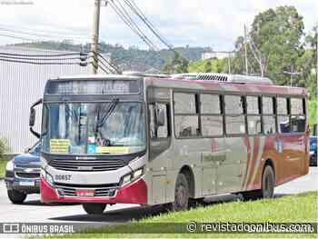 SP: Cajamar inaugura nova linha de ônibus ligando o Centro ao bairro Lago Azul - REVISTA DO ÔNIBUS