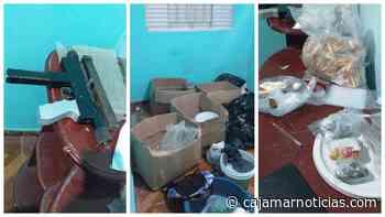 Força Tática estoura refinaria de drogas com armas em Cajamar - Cajamar Notícias