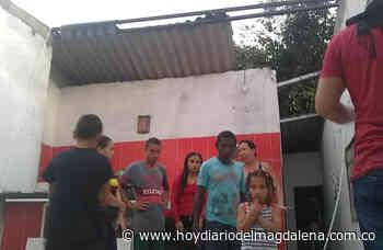 Más de 20 familias se quedaron sin techo por fuerte vendaval - Hoy Diario del Magdalena