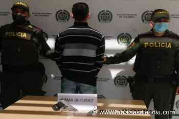 En el barrio Olaya capturan a «gatillero» de Fusagasugá, Cundinamarca - Noticias Día a Día