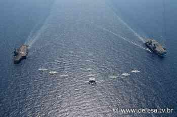 Breves sobre a operação conjunta dos FS Charles de Gaulle (R-91) e HMS Queen Elizabeth (R-08) - DefesaTV