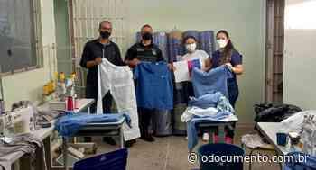 Recuperandos produzem 600 uniformes para Santa Casa de Pontes e Lacerda - O Documento