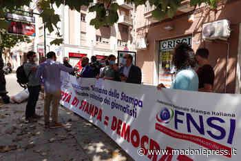"""I giornalisti siciliani scendono in piazza, Lentini: """"Si ascoltino le proposte di Assostampa"""" - Madonie Press"""