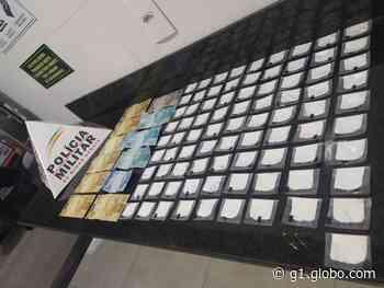 Jovem é preso e adolescente apreendido por tráfico de drogas em Formiga - G1
