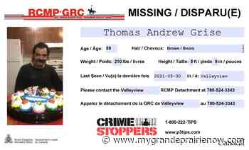Valleyview RCMP searches for missing man - My Grande Prairie Now