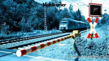 Frau läuft über Gleis – Regionalzug musste bremsen - Nordkurier