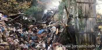 Galpões com lixo industrial pegam fogo em Taquara - Jornal NH