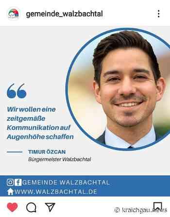 Gemeinde Walzbachtal auf Facebook und Instagram: Social Media schafft Bürgernähe - Region - kraichgau.news