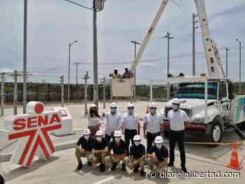 En Malambo, Air-e y Sena ponen en marcha el centro de entrenamiento para la formación de linieros - Diario La Libertad