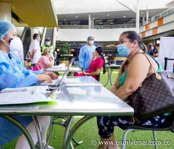 En Sincelejo han aplicado más de 75 mil dosis de vacunas contra el COVID-19 - El Universal - Colombia