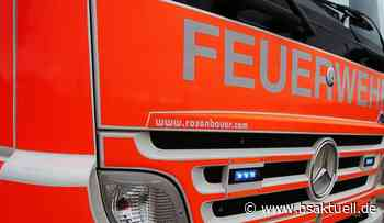 Illertissen/A7: Abgestellter Transporter beginnt zu brennen - BSAktuell