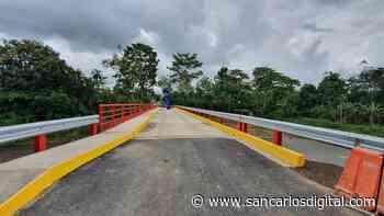 Nuevo puente sobre el río Burro alegra el paso entre San Ramón y Peñas Blancas | SanCarlosDigital.com - San Carlos Digital