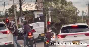 Video de nuevo fleteo en Medellín, esta vez en Guayabal - Noticias Caracol